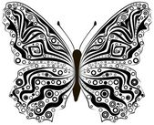 Abstract butterfly — Stock Photo
