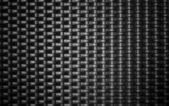 Black metal weave texture background — Stock Photo