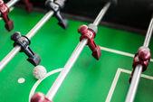 Bliska gry piłkarzyki z piłki nożnej — Zdjęcie stockowe