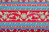 Tradiční thajské stylu umění malby na stropě chrámu — Stock fotografie