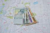 Amyansky money, four notes — Stock Photo