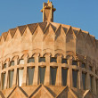 The building church in the territory of Echmiadzin — Stock Photo