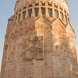 The stone building in the territory of Echmiadzin — Stock Photo