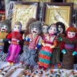 Doll in national costume. Yerevan — Stock Photo