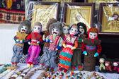 Panenka v kroji. jerevan — Stock fotografie