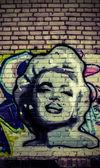 ściany graffit — Zdjęcie stockowe