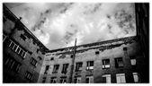 Gloomy house — Stock Photo