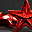 Red star holiday — Stock Photo