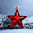 Royalty-Free Stock Photo: Red star holiday