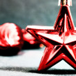 Stock Photo: Red star holiday
