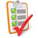 Checklist success — Stock Photo #50066531