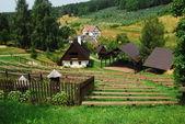 農村の田園風景 — ストック写真