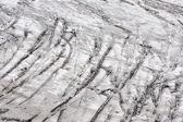 氷河のストライプ — ストック写真