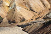 Colorful landscape of Landmannalaugar — Stock Photo