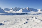 Landscape of Spitsbergen — Stock Photo