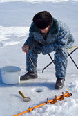 Winter fishing 52 — Stock Photo