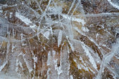 Surface of ice 2 — Stock Photo