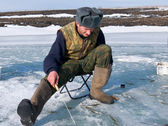 Winter Fishing 21 — Stock Photo