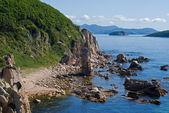Baie et roches — Photo