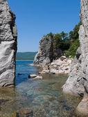 A landscape on rocky seacoast 7 — Stock Photo