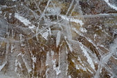 Surface of ice — Stock Photo