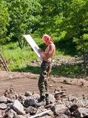 Archaeologist — Stock Photo