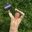 Man in orchard — Stock Photo #19865371