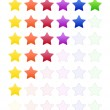 Rate Stars — Image vectorielle