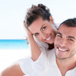Young couple loving vacation — Stock Photo #12243045