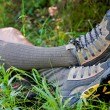Outdoor trekking relax - Stock Photo