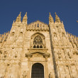 Milan Dome Cathedral - Foto Stock