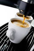 Espresso coffee — Stock Photo