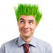 Green business — Stock Photo