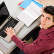 Student working — Stockfoto