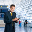 Business travel — Stockfoto