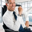 Smiling businessman — Stock Photo #12656286