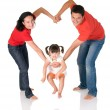Stock Photo: Family love