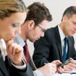 obchodní pracovní setkání — Stock fotografie