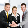 Business teamwork — Stock Photo #12657764