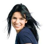 Happy smiling beautiful lady — Stock Photo