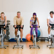 Fitness exercising — Stock Photo