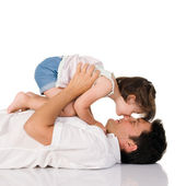 Daughter love — Stock Photo