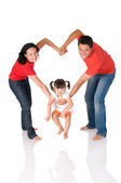 Amor de família — Foto Stock