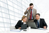 Business team working together — Foto Stock