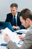 Businessman working in office — Stock Photo