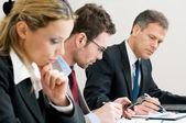 Reunión de trabajo de negocios — Foto de Stock