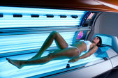 Solarium treatment spa — Stock Photo
