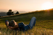 Al aire libre relajarse — Foto de Stock