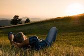 Im freien entspannen — Stockfoto
