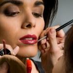 Professional make up — Stock Photo